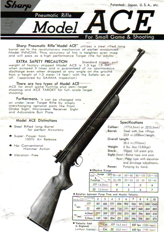 sheridan air rifle repair manual